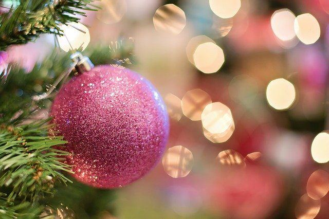 best pink christmas ornaments